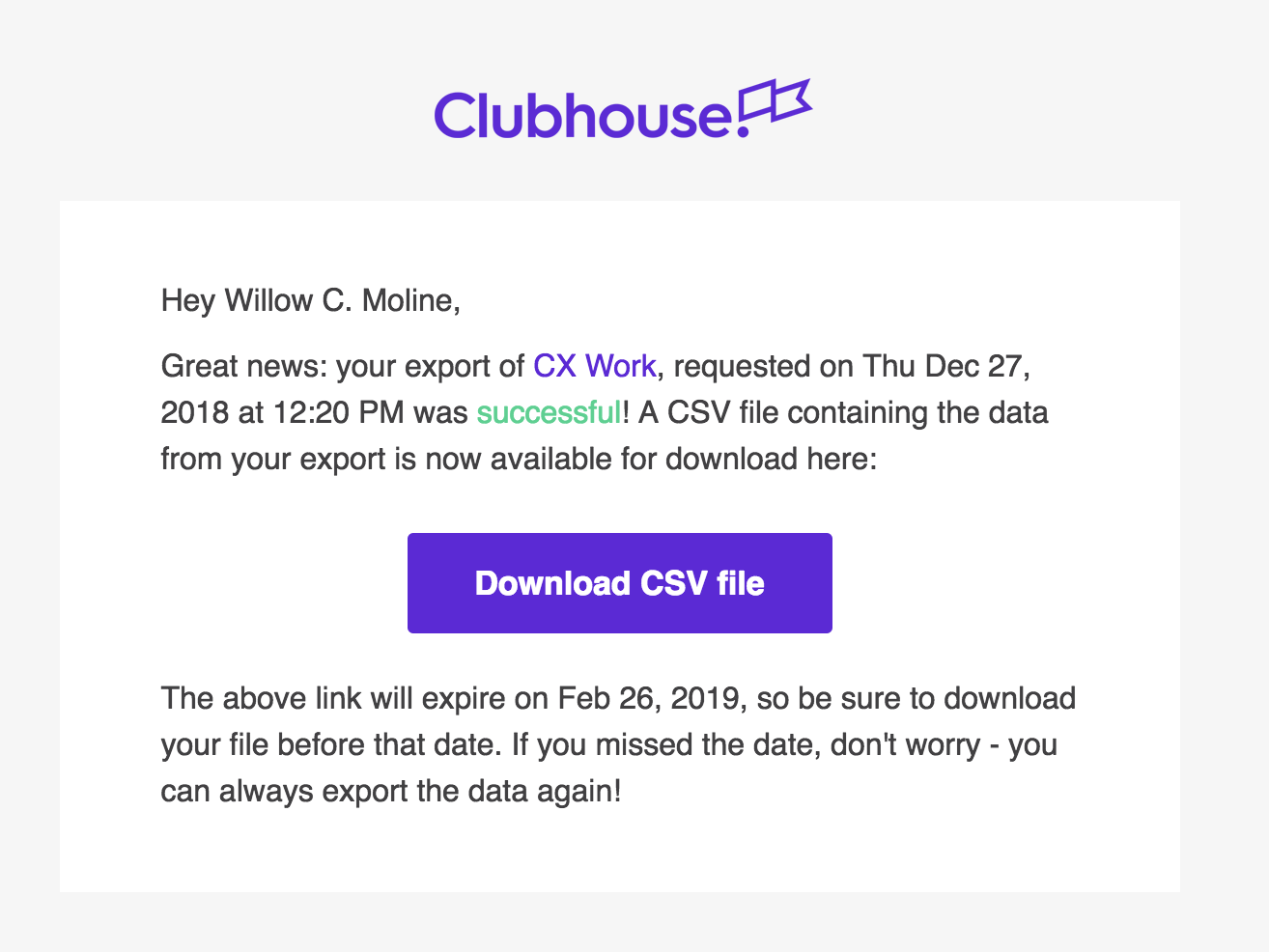 Clubhouse_Export_Success_Email.png